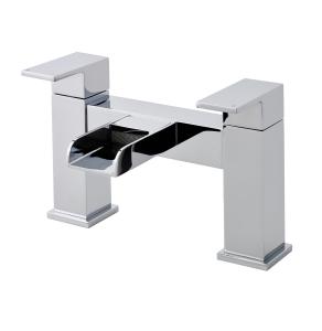 Nuie Strike Chrome Contemporary Bath Filler - TWF303 TWF303