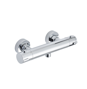 Nuie Bar Showers Chrome Contemporary Cool Touch Thermostatic Valve - VBS022 VBS022