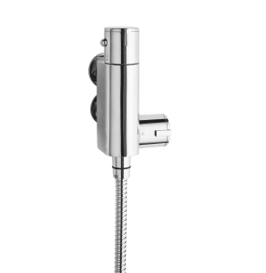 Nuie Bar Showers Chrome Contemporary Vertical Thermostatic Valve - VBS023 VBS023