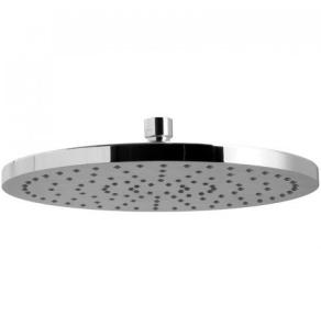 "Vado Saturn Single Function Round Fixed Shower Head 220Mm (9"") - Wg-Saturn2-C/P VADO1336"