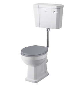 Bayswater Fitzroy Comfort Height Low Level Toilet with Lever Cistern (excluding Seat) BAY1026