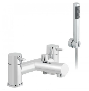 Vado Zoo 2 Hole Bath Shower Mixer Deck Mounted With Shower Kit - Zoo-130+K-C/P VADO1868