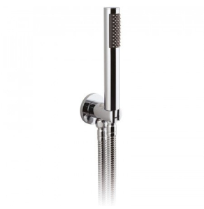 VADO ZOO SINGLE FUNCTION MINI SHOWER KIT WITH 150CM SHOWER HOSE AND BRACKET WITH INTEGRATED OUTLET - ZOO-SFMKWO-C/P VADO1262