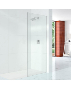 Merlyn 10 Series Shower Wall with Wall Profile & Stabilising Bar 900mm - S10SW900H S10SW900H