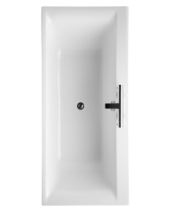Ideal Standard Concept Double Ended Rectangular Bath 1700mm x 750mm 2 Tap Hole White - E729901 - E729901 IS10329