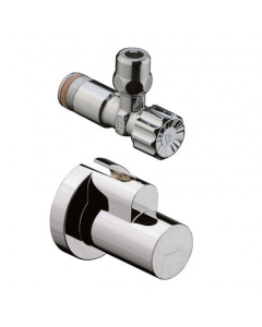 """HANSGROHE ANGLE VALVE WITH COVER 3/8"""" - 13954140 13954140"""
