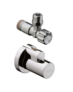"""HANSGROHE ANGLE VALVE WITH COVER 3/8"""" - 13954300 13954300"""
