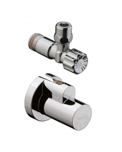 """HANSGROHE ANGLE VALVE WITH COVER 3/8"""" - 13954310 13954310"""