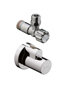 """HANSGROHE ANGLE VALVE WITH COVER 3/8"""" - 13954930 13954930"""