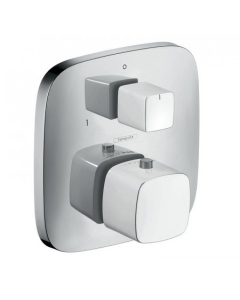 HANSGROHE PURAVIDA THERMOSTATIC MIXER FOR CONCEALED INSTALLATION WITH SHUT-OFF / DIVERTER VALVE - 15771400 15771400