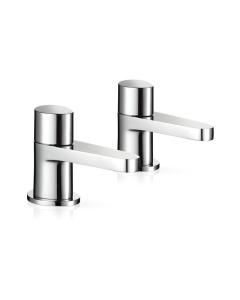 Mira Precision Bath Pillar Taps 2.1817.003