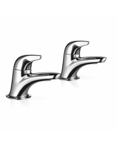 Mira Comfort Bathroom Basin Pillar Taps 2.1818.002