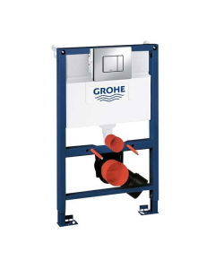 820mm Grohe Rapid SL Pack With Cosmo Button & Brackets - 38773000 38773000