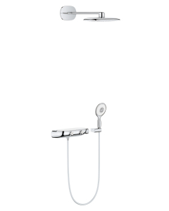 Grohe Rainshower System SmartControl 360 MONO Combi shower system with thermostat, exposed/concealed - 26446000 26446000