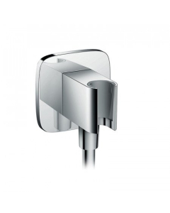 Hansgrohe Fixfit Wall Outlet E With Shower Holder - 26485000 26485000