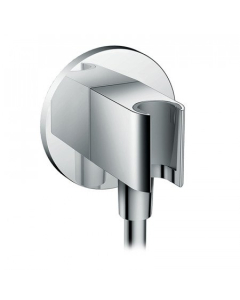 Hansgrohe Fixfit Wall Outlet S With Shower Holder - 26487000 26487000