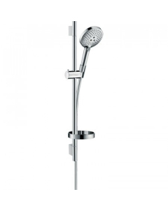 Hansgrohe Raindance Select S Shower Set 120 3Jet With Shower Rail 65 Cm And Soap Dish - 26630000 26630000