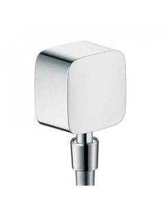 Hansgrohe Fixfit Wall Outlet With Non-Return Valve And Pivot Joint - 27414000 27414000