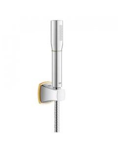 Grohe Grandera Rainshower Stick Wall Holder Set Chrome / Gold - 27993IG0 27993IG0