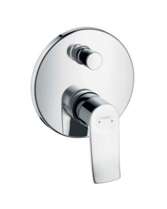 HANSGROHE METRIS SINGLE LEVER MANUAL BATH MIXER FOR CONCEALED INSTALLATION - 31493000 31493000