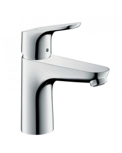 HANSGROHE FOCUS SINGLE LEVER BASIN MIXER 100 WITH POP-UP WASTE - 31607000 31607000