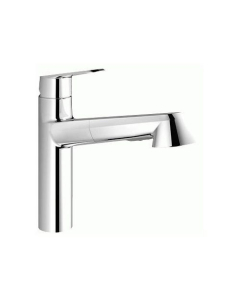 GROHE Eurodisc Cosmopolitan kitchen tap, 100° swivel range, pull-down shower head 32257002
