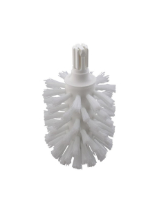 HANSGROHE REPLACEMENT TOILET BRUSH WHITE WITHOUT HANDLE - 40088000 40088000