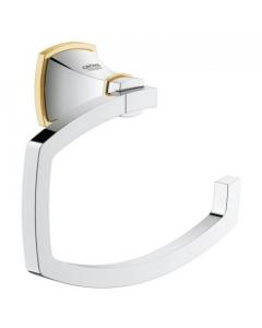 Grohe Grandera Toilet Roll Holder Chrome/Gold - 40625IG0 40625IG0