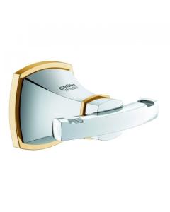 Grohe Grandera Robe Hook Chrome/Gold - 40631IG0 40631IG0