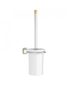 Grohe Grandera Toilet Brush Set Chrome/Gold - 40632IG0 40632IG0