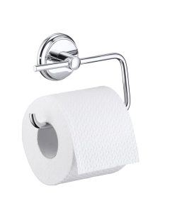 HANSGROHE LOGIS CLASSIC TOILET ROLL HOLDER WITHOUT COVER - 41626000 41626000