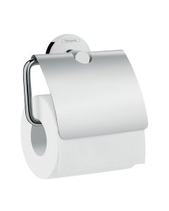 Hansgrohe Logis Universal Toilet Roll Holder With Cover - 41723000 41723000