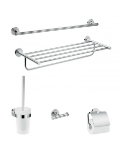 HANSGROHE LOGIS UNIVERSAL BATH-ACCESSORY EXTENDED SET 5 IN 1 - 41728000 41728000