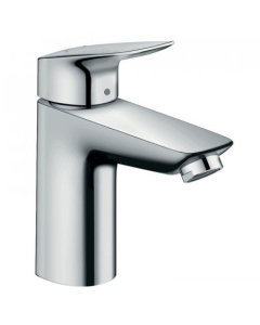 HANSGROHE LOGIS SINGLE LEVER BASIN MIXER 100 WITH POP-UP WASTE - 71100000 71100000