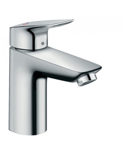 HANSGROHE LOGIS SINGLE LEVER BASIN MIXER 100 COOLSTART WITH POP-UP WASTE - 71102000 71102000
