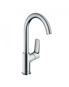 HANSGROHE LOGIS SINGLE LEVER BASIN MIXER 210 WITH SWIVEL SPOUT WITHOUT WASTE - 71131000 71131000