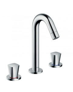HANSGROHE LOGIS 3-HOLE BASIN MIXER 150 WITH POP-UP WASTE - 71133000 71133000