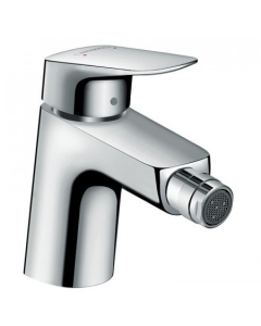 HANSGROHE LOGIS SINGLE LEVER BIDET MIXER 70 WITH POP-UP WASTE - 71204000 71204000