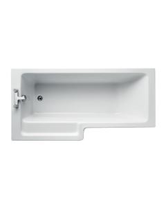 1700mm x 700/850mm Ideal Standard Tempo Cube L-Shpaed Bath - 0 Tap Hole - E259501 E259501