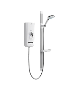 Mira Advance Flex Extra 8.7KW Electric Shower White/Chrome 1/1785.005 1.1785.005