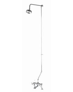 Nuie Shower Kits Chrome Traditional Rigid Riser Kit - AK305 AK305