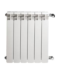 Faral Alba 95 Aluminium Radiator 680mm H x 320mm W 4 Sections White ALBA680-4