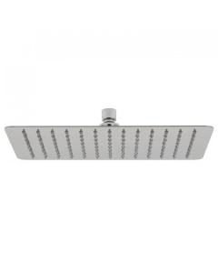 """Vado Aquablade Single Function Easy Clean Slim Line Rectangular Shower Head, 300Mm X 200Mm (12 X 8"""") - Aqb-20X30-C/P VADO1337"""