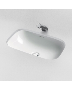 Armitage Shanks Contour 21 Under Countertop Basin with Overflow 555mm Wide - 0 Tap Hole AS10068
