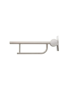 Armitage Shanks Contour 21 Hinged Arm Wall Support Grab Rail 650mm - Stainless Steel AS10238