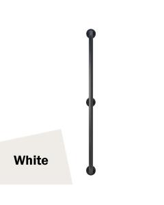Armitage Shanks Contour 21 Straight Grab Rail 1200mm Length - White AS10207