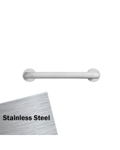 Armitage Shanks Contour 21 Rest Grab Rail for Support Cushion 400mm Length - Stainless Steel AS10209