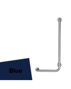 Armitage Shanks Contour 21 Angled Shower Grab Rail 900mm Length - RH Blue AS10212