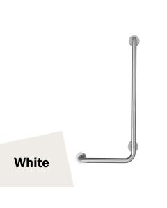 Armitage Shanks Contour 21 Angled Shower Grab Rail 900mm Length - RH White AS10213