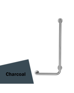 Armitage Shanks Contour 21 Angled Shower Grab Rail 900mm Length - RH Charcoal AS10215